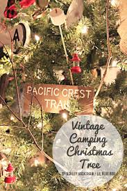2015 dream tree reveal vintage camping theme