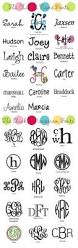 Initial Monogram Fonts 18 Best Fonts Images On Pinterest Drawings Monogram Fonts And