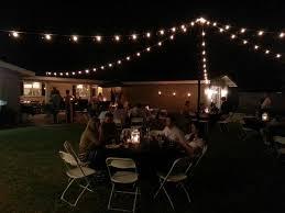Backyard Wedding Lighting by Phoenix Wedding Special Event Uplighting Rental Pricing