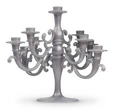 Vintage Bohemian Lead Crystal Candle Holder For Three Candles Candle Holders U0026 Accessories Ebay