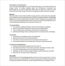 job description for data analyst how to write job descriptions