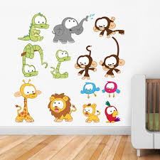 Animal Wall Decals For Nursery by 45 Kids Wall Decals Best Kids Room Wall Design Stickers