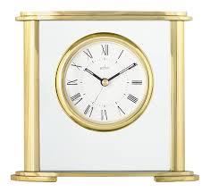Crystal Mantel Clocks Rhythm Mantel Clock With Moving Crystal Effect Pendulum In Gold