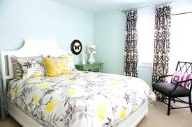 yellow and gray bedroom and gray bedroom design with balcony