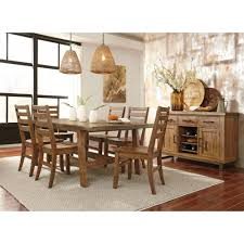 ashley furniture dondie rectangular dining room table set in warm