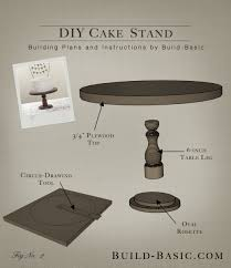 rotating cake stand build a diy cake stand build basic