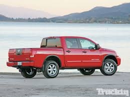 red nissan 2012 2012 half ton truck shootout 2012 nissan titan 4x4 pro 4x