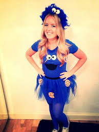 100 Coolest Halloween Costumes Cutest 25 Cookie Monster Costumes Ideas Monster