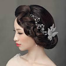 rhinestone hair buy wholesale luxury wedding headdress jewelry butterfly