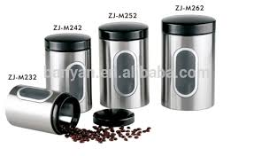 stainless steel canisters kitchen china stainless steel canister kitchen wholesale alibaba