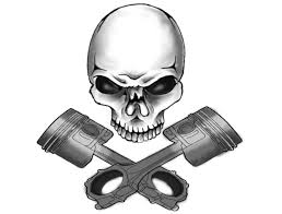 tattoo design piston tattoo realistic skull and pistons tattoo