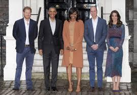 william kate u0026 harry host the obamas for dinner u0026 prince george