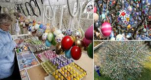 german easter egg tree easter egg trees how to make an easter egg tree with easter egg