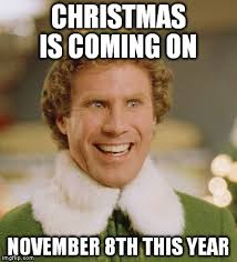 Christmas Is Coming Meme - christmas is coming early imgflip