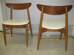 10 Chair Dining Table Set Bedroom Cute White Cushion Danish Mid Century Modern Chair Sling