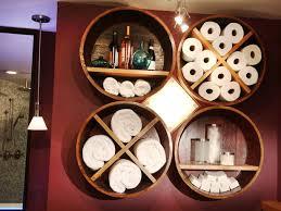 bathroom diy ideas barrel into bathroom storage diy cozy home