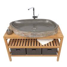 waschbecken untertisch naturstein waschbecken oval flach ca 100 cm u2013 bei wohnfreuden kaufen