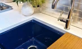 Blue Kitchen Sinks Navy Blue Kitchen Sinks The Home Depot Brilliant Sink With Regard