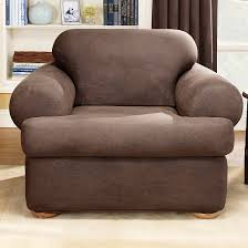 Sure Fit Club Chair Slipcovers Stretch Leather 2 Piece T Chair Slipcover Sure Fit Target