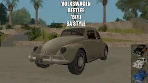 beetle volkswagen 1970 beetle 1970 sa style for gta san andreas