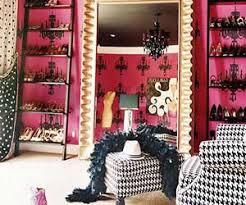 Dressing Room Chandeliers Light Pink Tiled Bathroom With Dark Pink Trim Room Decor And Design
