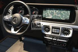 mercedes benz silver lightning interior 2019 mercedes benz g class w464 interior design revealed