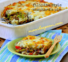 shepherd u0027s pie filipino style manila spoon