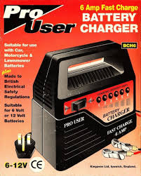 pro user car battery charger 6 amp fast charge 12 u0026 6 volt
