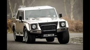lamborghini jeep lm002 lamborghini lm 002 u2013 the world u0027s first luxury suv carnews youtube