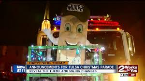 tulsa christmas parade 2017 big changes announcement daytime