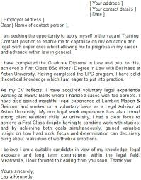 l law cover letter