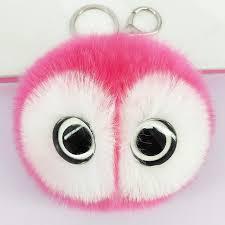 baby keychains big glass keychains pompom keyring bags