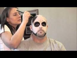 Halloween Costumes Bald Guys Mens Halloween Sugar Skull Makeup