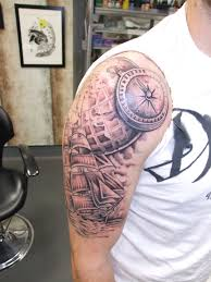 Nautical Map Tattoo Nautical Tattoo Images U0026 Designs