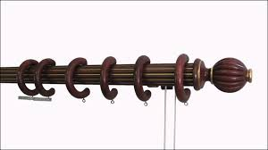 drapery rods traversing rods drapery hardware
