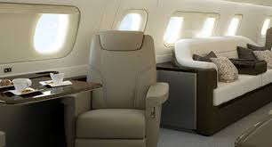 Private Plane Bedroom Lineage 1000e Luxurious Spacious Executive Business Jet