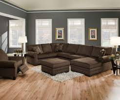 minimalist modern paint colors for living room walls with dark furniture also