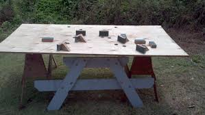 Hammer Wooden Picnic Tables And Outdoor Serving Tables Discover by Ada Compliant Picnic Tables 5 Steps With Pictures