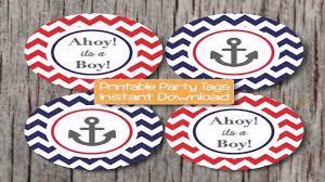 diy nautical baby shower decor youtube