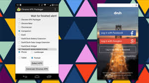 chrome for android apk chrome apk packager turns your android apps into chrome extensions