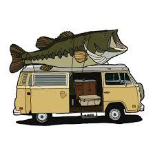 volkswagen van cartoon illustration u0026 design u2014 richard blanco