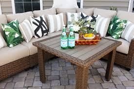 Home Depo Patio Furniture Enthralling Patio With Pergola Design Ideas And An Outdoor