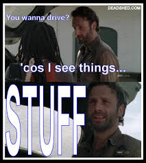 Walking Dead Stuff And Things Meme - the walking dead funny stuff