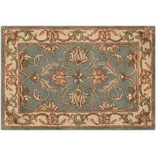 Safavieh Heritage Rug Heritage Evora Framed Floral Wool Rug