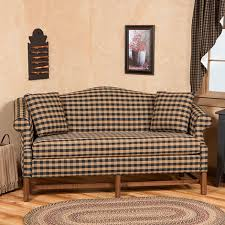 Camelback Sofa For Sale Country Upholstered Furniture Irvin U0027s Country Tinware