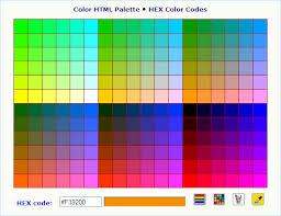 color codes color code generators