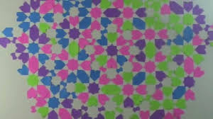 Moroccan Pattern Art Moroccan Wall by Diy Wall Art Moroccan Sticky Notes Youtube