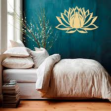 wall decal lotus flower namaste symbol vinyl sticker murals yoga wall decal lotus flower namaste symbol vinyl sticker murals yoga zen bohemian meditation buddha art room bedroom decal wy 75 in wall stickers from home