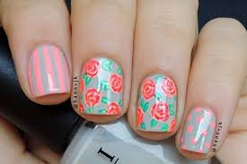flower nail designs to wear in 2017