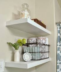 Bathroom Wall Shelves Bathroom Ideas Corner Bathroom Wall Shelves Above Rattan Waste